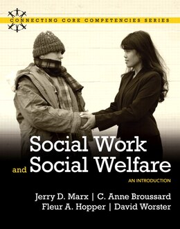Book Social Work and Social Welfare: An Introduction by Jerry D. Marx