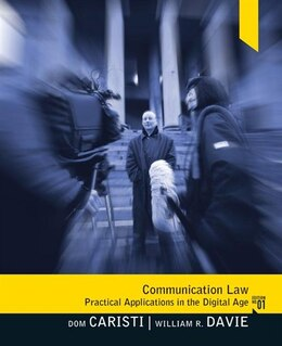 Book Communication Law by Dominic G Caristi