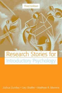 Research Stories For Introductory Psychology