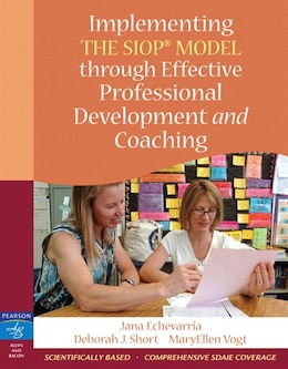 Book Implementing The Siop Model Through Effective Professional Development And Coaching by Jana J. Echevarria