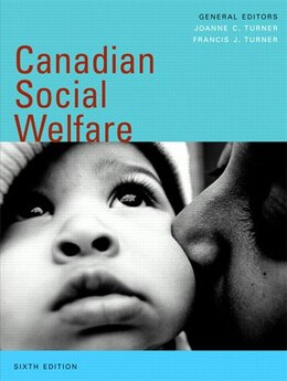 Book Canadian Social Welfare, Sixth Edition by Joanne C. Turner