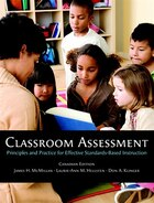 Classroom Assessment: Principles and Practice for Effective Standards-Based Instruction, First…