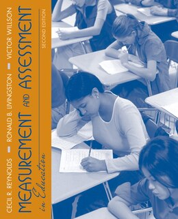 Book Measurement and Assessment in Education by Cecil R. Reynolds