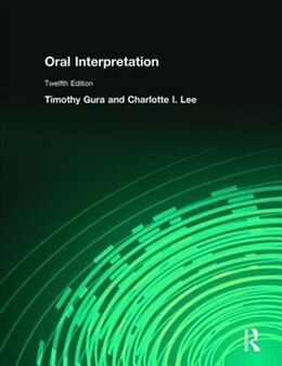 Book Oral Interpretation by Timothy Gura