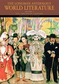 Book The Longman Anthology of World Literature, Volume F: The Twentieth Century by David Damrosch