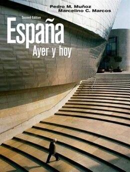 Book Espana Ayer Y Hoy by Pedro M. Muñoz