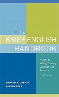 Book Brief English Handbook by Edward A. Dornan