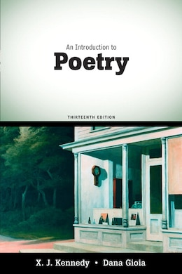 Book An Introduction to Poetry by X. J. Kennedy