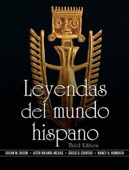 Book Leyendas del mundo hispano by Susan Bacon