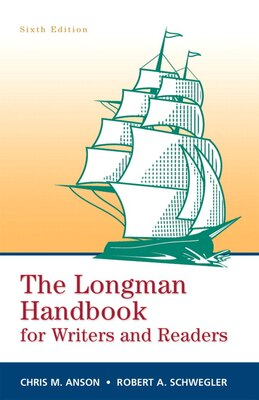 Book Longman Handbook for Writers and Readers, The (paperbk) by Chris M. Anson