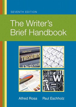 Book The Writer's Brief Handbook by Alfred Rosa