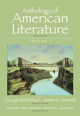 Book Anthology of American Literature, Volume I by George McMichael