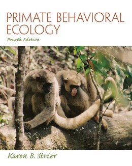Book Primate Behavioral Ecology by Karen B. Strier