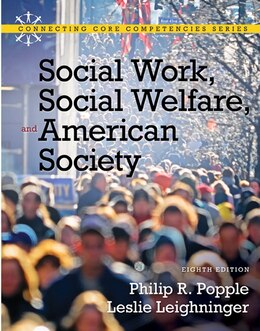 Book Social Work, Social Welfare and American Society by Philip R. Popple