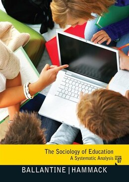 Book The Sociology of Education: A Systematic Analysis by Jeanne H. Ballantine