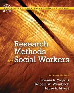 Book Research Methods for Social Workers by Bonnie L. Yegidis