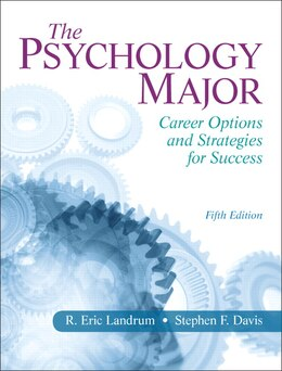 Book The Psychology Major: Career Options And Strategies For Success by R. Eric Landrum