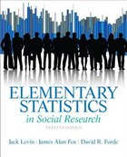 Elementary Statistics in Social Research