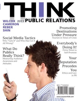 Book THINK Public Relations by Dennis L. Wilcox