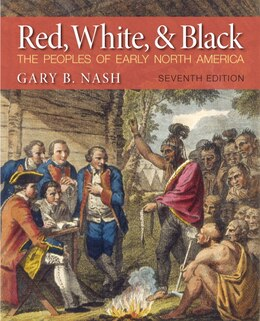 Book Red, White And Black by Gary B. Nash