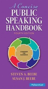 Book A Concise Public Speaking Handbook by Steven A. Beebe