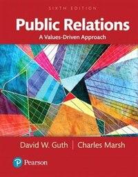 Public Relations: A Values-driven Approach, Books A La Carte