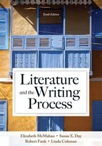 Book Literature And The Writing Process by Elizabeth Mcmahan