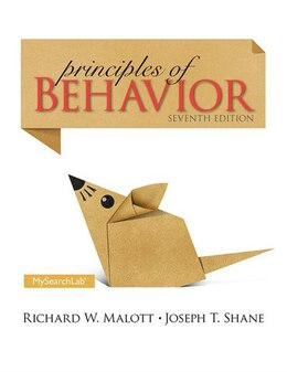 Book Principles Of Behavior: Seventh Edition by Richard Malott