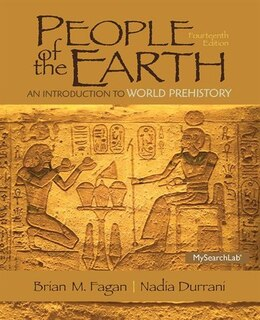 Book People Of The Earth: An Introduction To World Prehistory by Dr. Brian Fagan