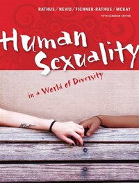 Human Sexuality In A World Of Diversity, Fifth Canadian Edition