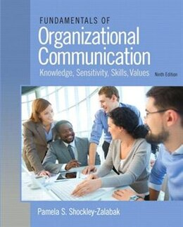Book Fundamentals Of Organizational Communication by Pamela S. Shockley-Zalabak