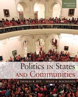 Book Politics In States And Communities by Thomas R. Dye