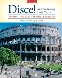 Disce! An Introductory Latin Course, Volume 1 Plus Mylatinlab (multi-semester Access) With Etext…