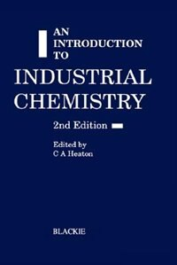 Book An Introduction to industrial chemistry by Unknown