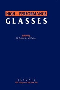 Book High-Performance Glasses by M. Cable
