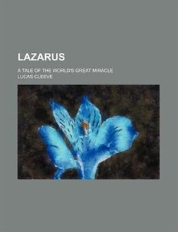 Book Lazarus by Lucas Cleeve