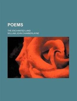 Book Poems by William John Chamberlayne