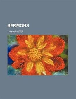 Book Sermons by Thomas M'crie