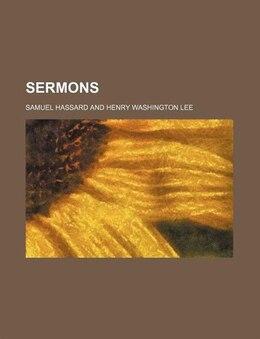 Book Sermons by Samuel Hassard