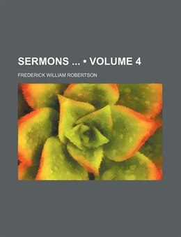 Book Sermons ... by Frederick William Robertson