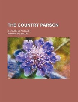 Book The Country Parson by Honoré de Balzac
