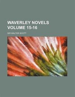 Book Waverley Novels Volume 15-16 by Sir Walter Scott