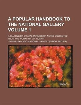 Book A Popular Handbook to the National Gallery by Edward Tyas Cook