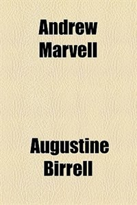 Book Andrew Marvell by Augustine Birrell