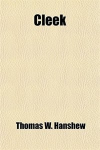 Book Cleek by Thomas W. Hanshew