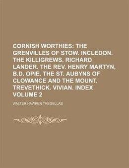 Book Cornish worthies by Walter Hawken Tregellas