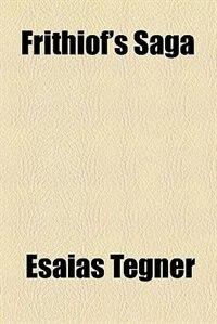 Book Frithiof's Saga by Esaias Tegnér