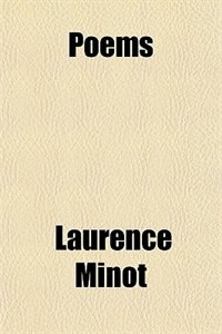 Book Poems by Laurence Minot