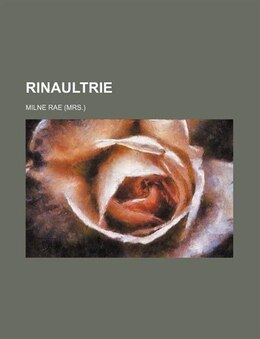 Book Rinaultrie by Milne Rae