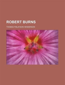 Book Robert Burns by Thomas Finlayson Henderson
